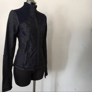 Lululemon 6 ZIP Up Fitted Jacket Define EUC